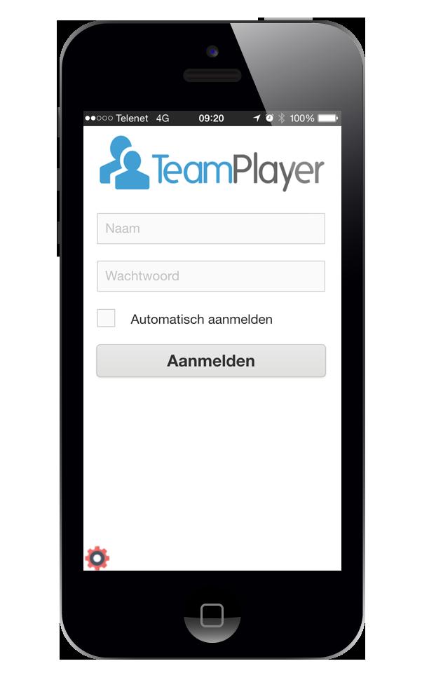 gsm met app aanmelden